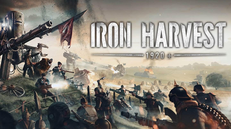 巨大なロボで戦う戦略型RTS「Iron Harvest 1920+」2021年に発売